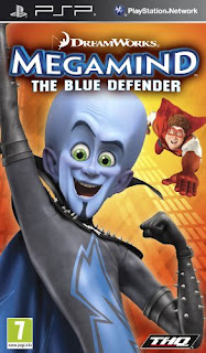 Megamind The Blue Defender PSP GAME ISO