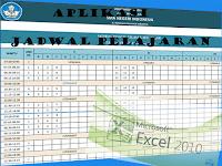 Aplikasi Jadwal Pelajaran Otomatis SD|SMP|SMA Versi 2018