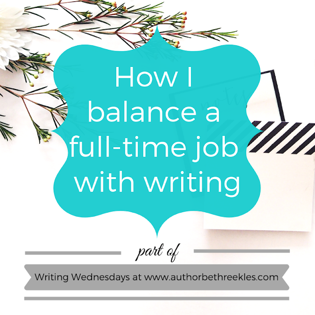 Balancing a full-time job in IT with my career as an author means balancing two very different worlds - so here are a few ways in which I manage that.