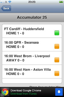 iAccumulator App - Track your football predictions