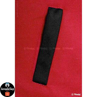HJ10 Hijacket BASIC Maroon x Black ORIGINAL PREMIUM FLEECE JAKET HIJAB JAKET MUSLIMAH