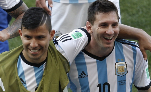 Aguero will convince Messi to join Manchester City