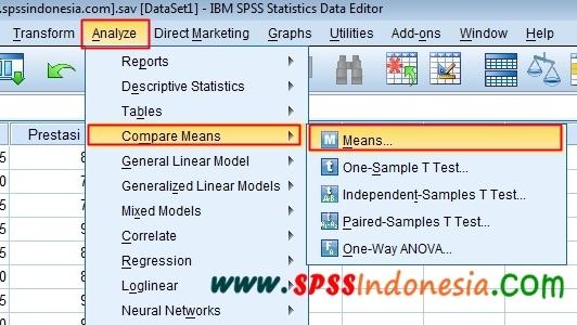 Cara Melakukan Uji Linearitas dengan Program SPSS