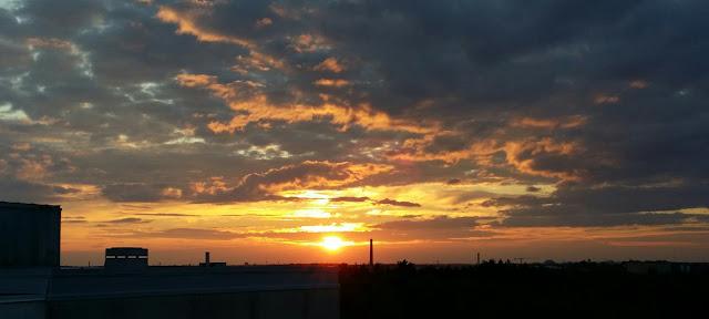 auringonlasku, turku, kesäyö