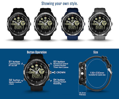 Zeblaze VIBE 4 HYBRID Smartwatch Specs, Features and Price