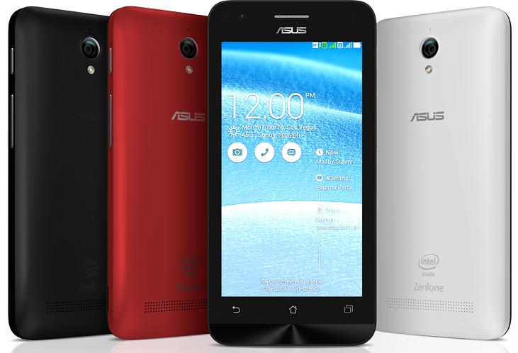 ASUS ZenFone C Specs, Price and Availability