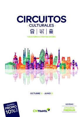 Circuitos culturales 2019 catálogo CNTravel