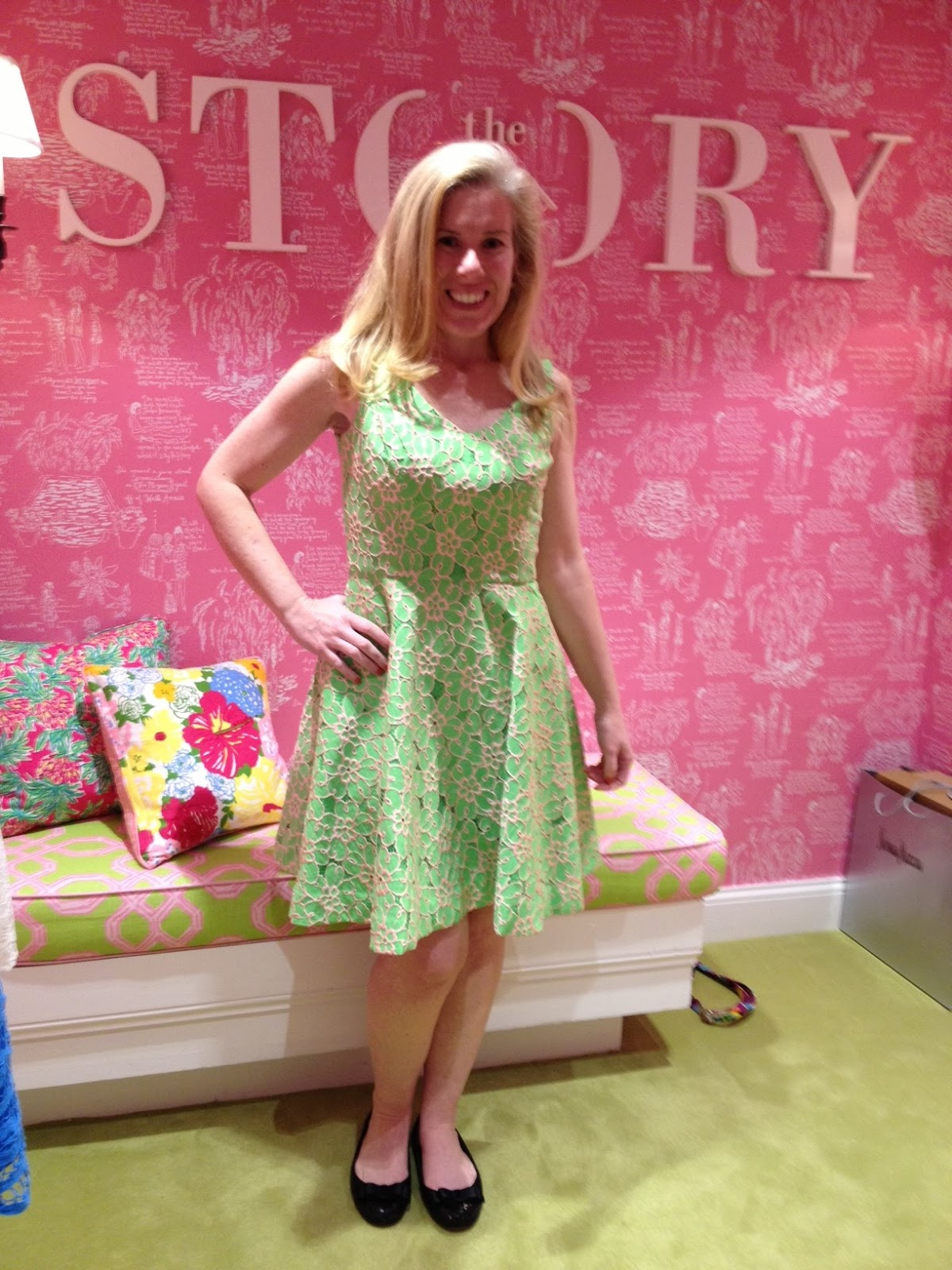 Lilly Pulitzer Pink Floral Lilly Strapless Dress | Curtsy