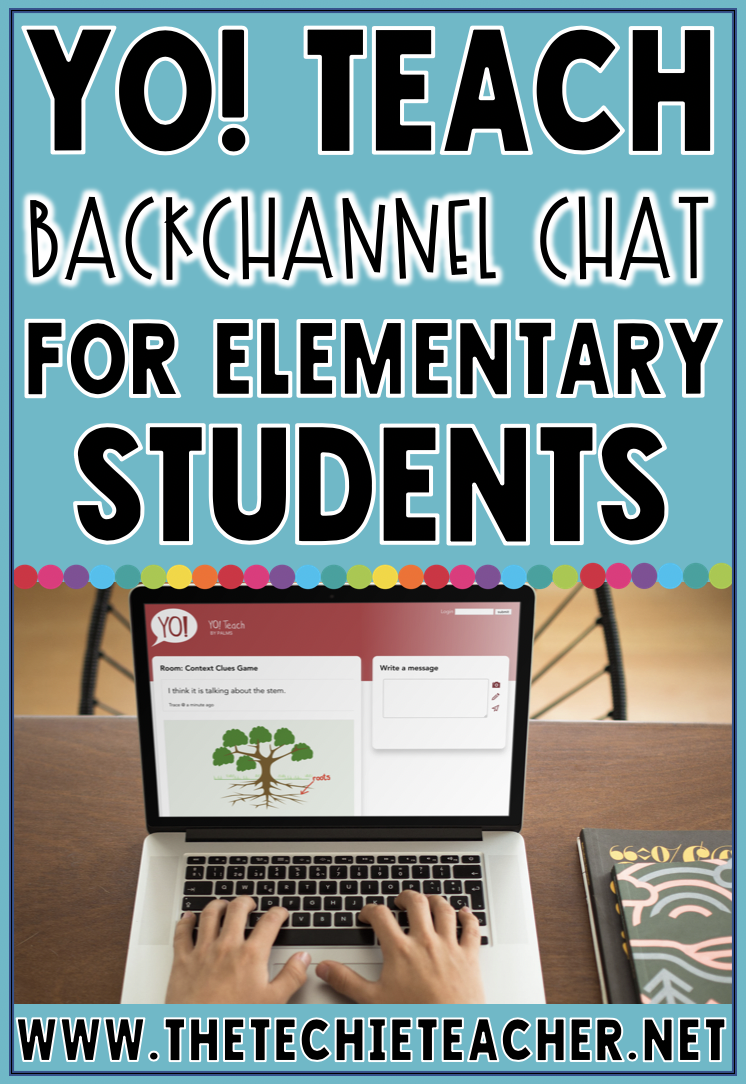 Yo! Teach, the alternative to Today's Meet, is an excellent backchannel chat digital tool for elementary students.