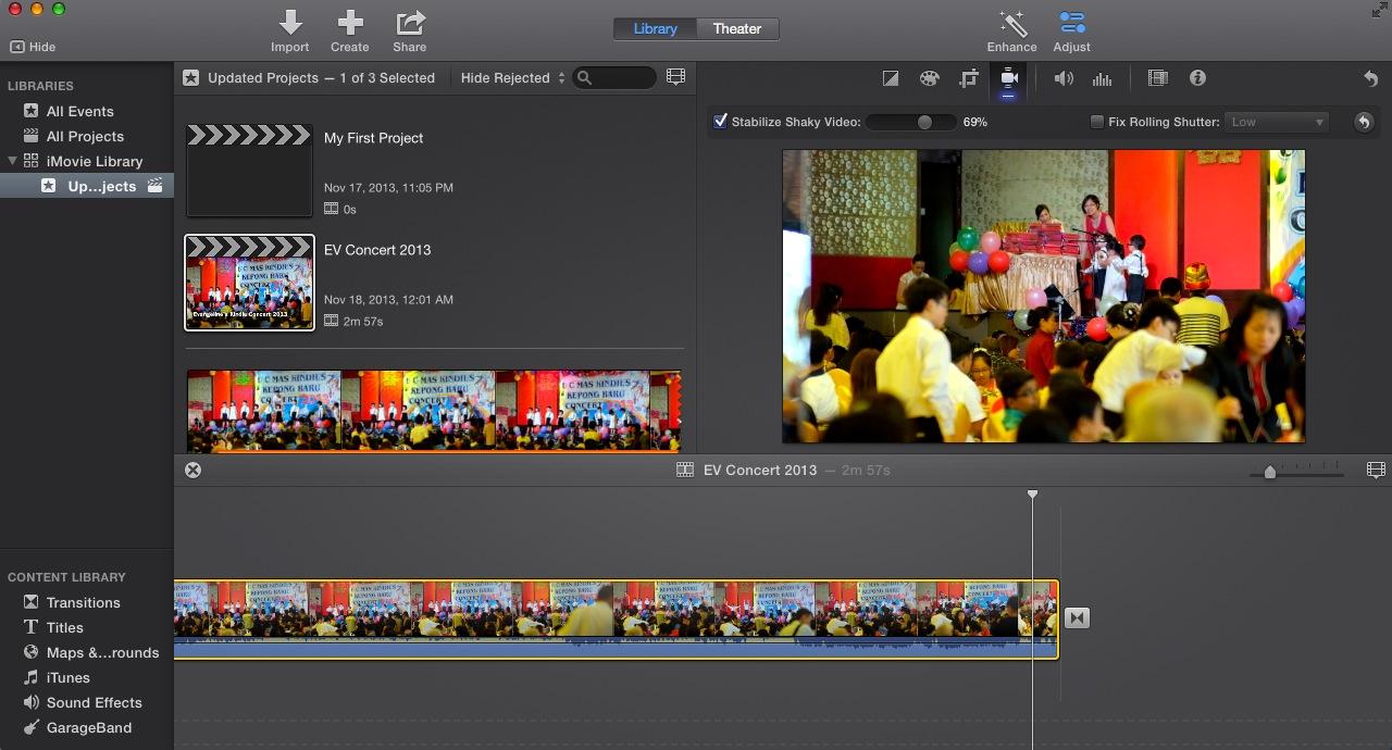 Free Video Stabilization Software on Mac?