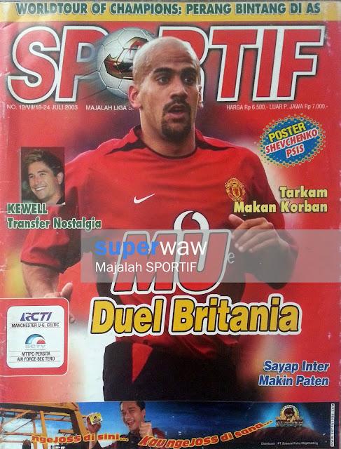 Majalah SPORTIF: MU Duel Britania