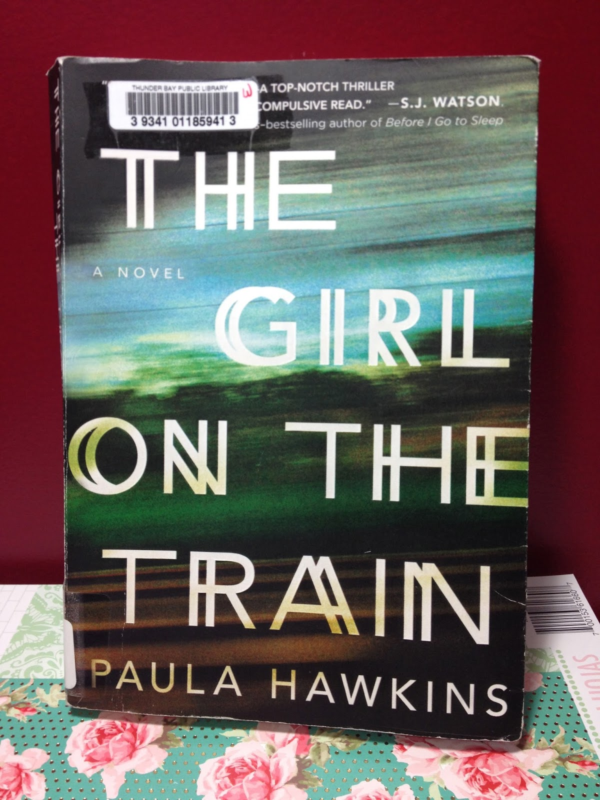 Tracys Treasures  The Girl on the Train   Book Review This book is about a woman named Rachel who commutes to work daily on the  train  At a certain stop  she can see into a couple s window and into their  life