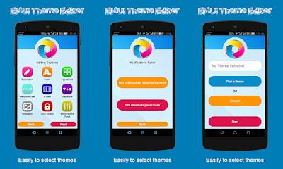 Come creare menu personalizzato EMUI: Theme Editor