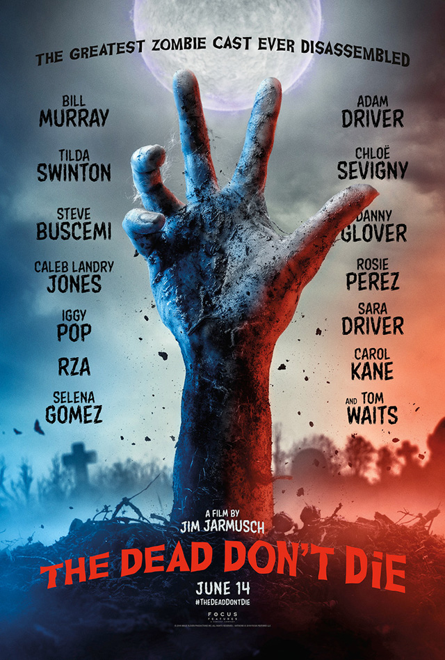 movie poster with a zombie hand