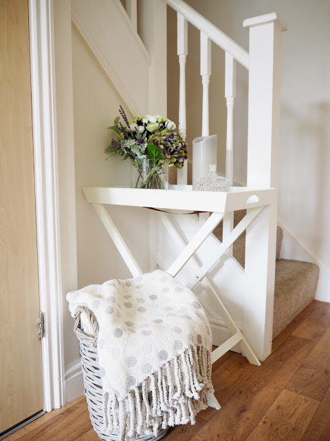 Inspiration and interior ideas for styling your hall, stairs and landing. Tour my home to see how I've styled my hall, stairs, landing.