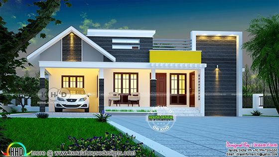 Budget friendly cute home plan