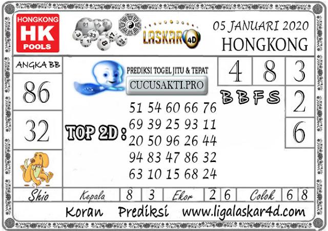 Prediksi Togel HONGKONG LASKAR4D 05 JANUARI 2020