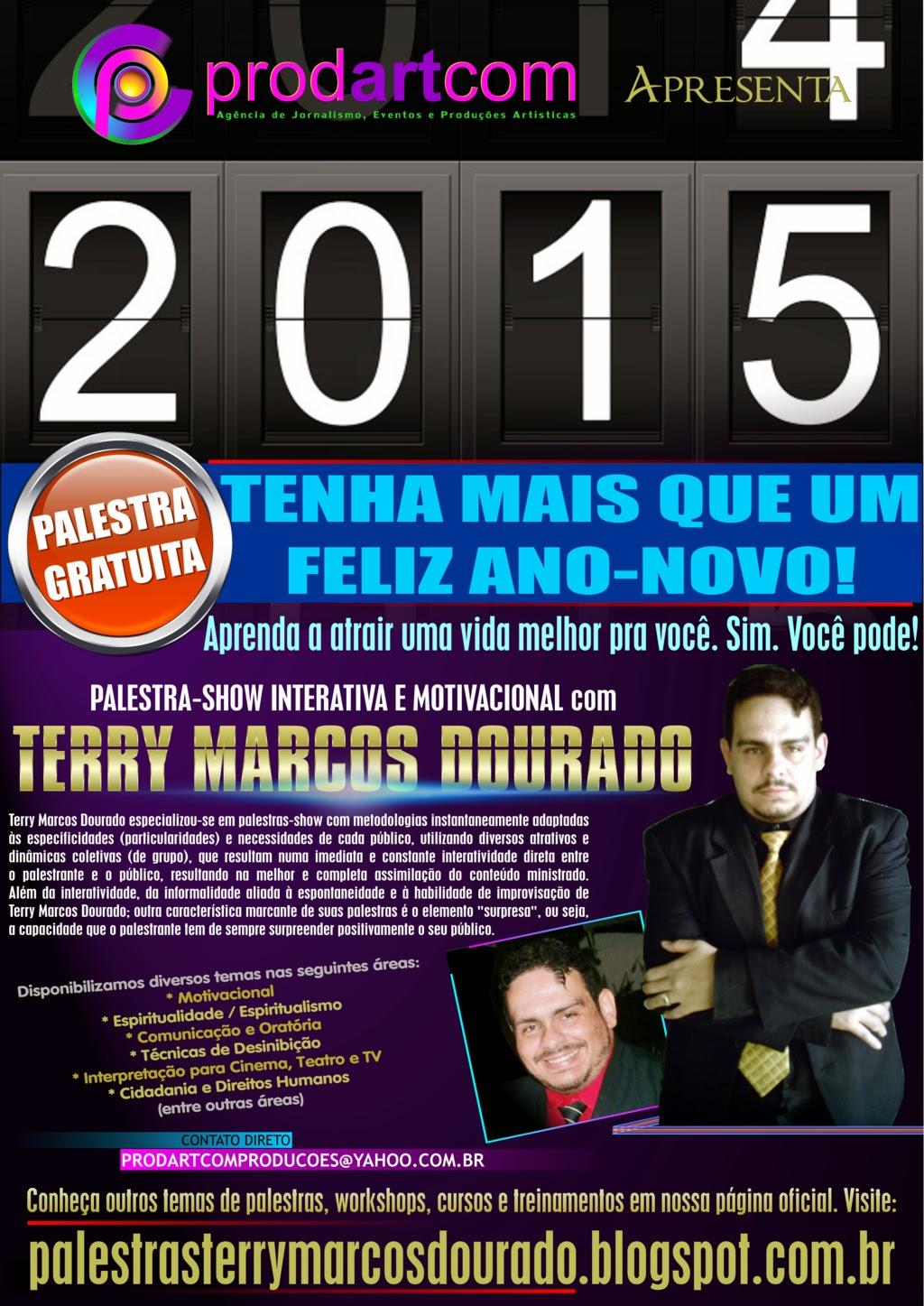 Página Oficial Do Palestrante Terry Marcos Dourado