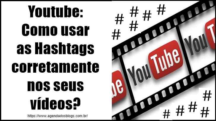 Youtube: Como usar as Hashtags corretamente nos seus vídeos?