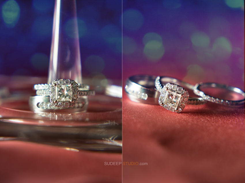Wedding Rings photography Detroit and St Clair Shores - Sudeep Studio.com