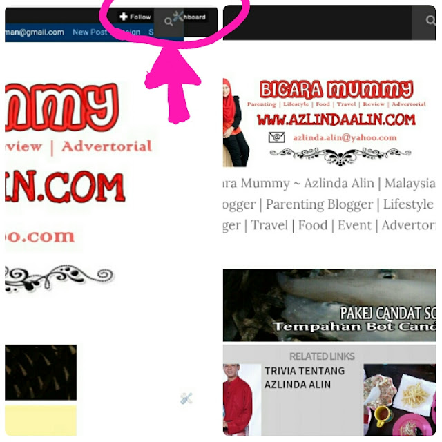 TUTORIAL PASANG BUTANG FOLLOW DAN DASHBOARD DI BLOG