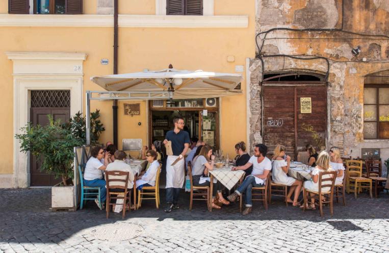 Aglio olio e peperoncino best cucina romana in rome for Cuccina romana