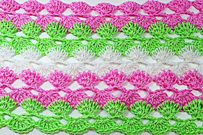 1 - Crochet IMAGEN Puntada a crochet y ganchillo para primavera muy facil y rapido. MAJOVEL CROCHET