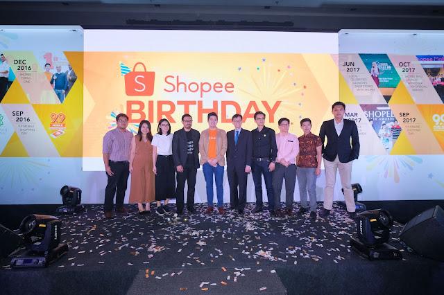Shopee Meraikan Ulangtahun dengan 80 Juta Muat Turun