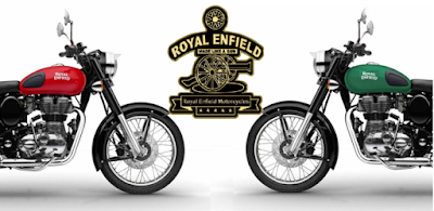 Royal Enfild classic 350 Redditch Series two shades