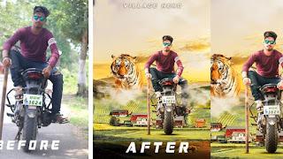 Picsart manipulation background by Maruti editz