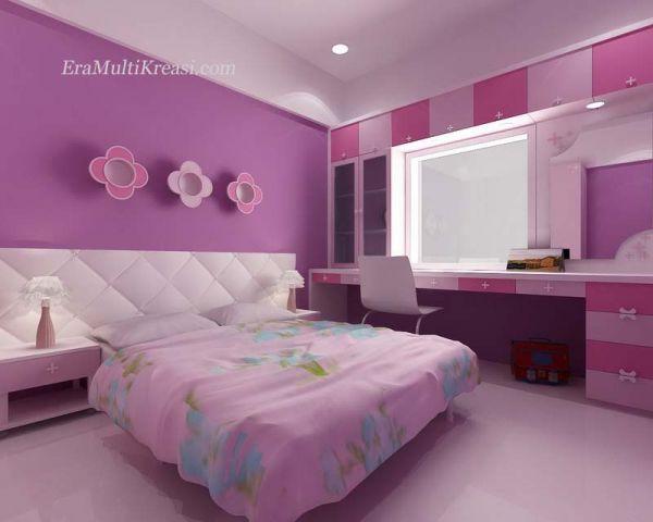 Warna Cat Rumah Minimalis Pink
