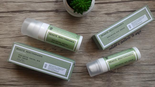 Edelweiss Bio Serum y Crema de día de Beauté Mediterránea