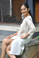 Radhika Cute Young New Actress in White Long Transparent Kurta ~  Exclusive Celebrities Galleries 026.JPG