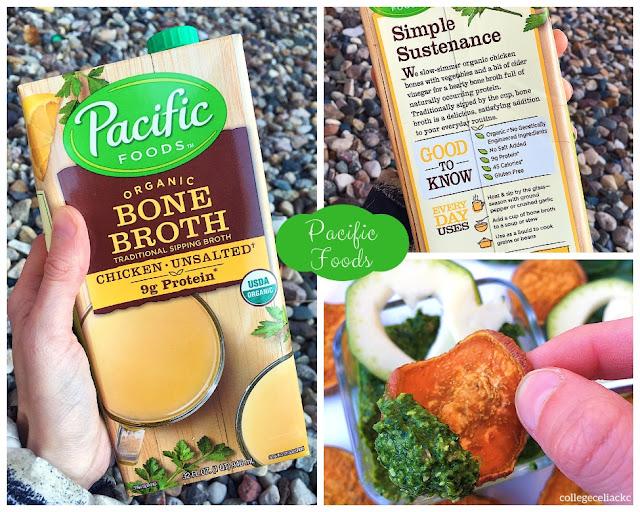 Nut-Free Bone Broth Pesto with Sweet Potato Rounds (Gluten Free, Paleo)