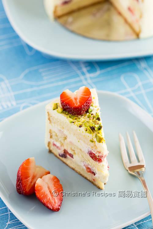 士多啤梨鮮忌廉蛋糕 Strawberry Cream Cake03