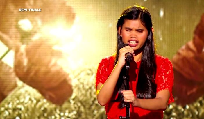 Blind Filipina Singer Bags 3rd Place in 'France has Incredible Talent'