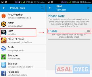 Cara Terbaru dan Termudah Mengganti Warna Text Tulisan BBM Android