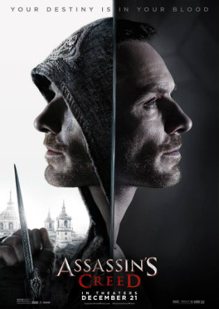 Poster of Assassin's Creed 2016 Full Movie Download HDTS 720p English