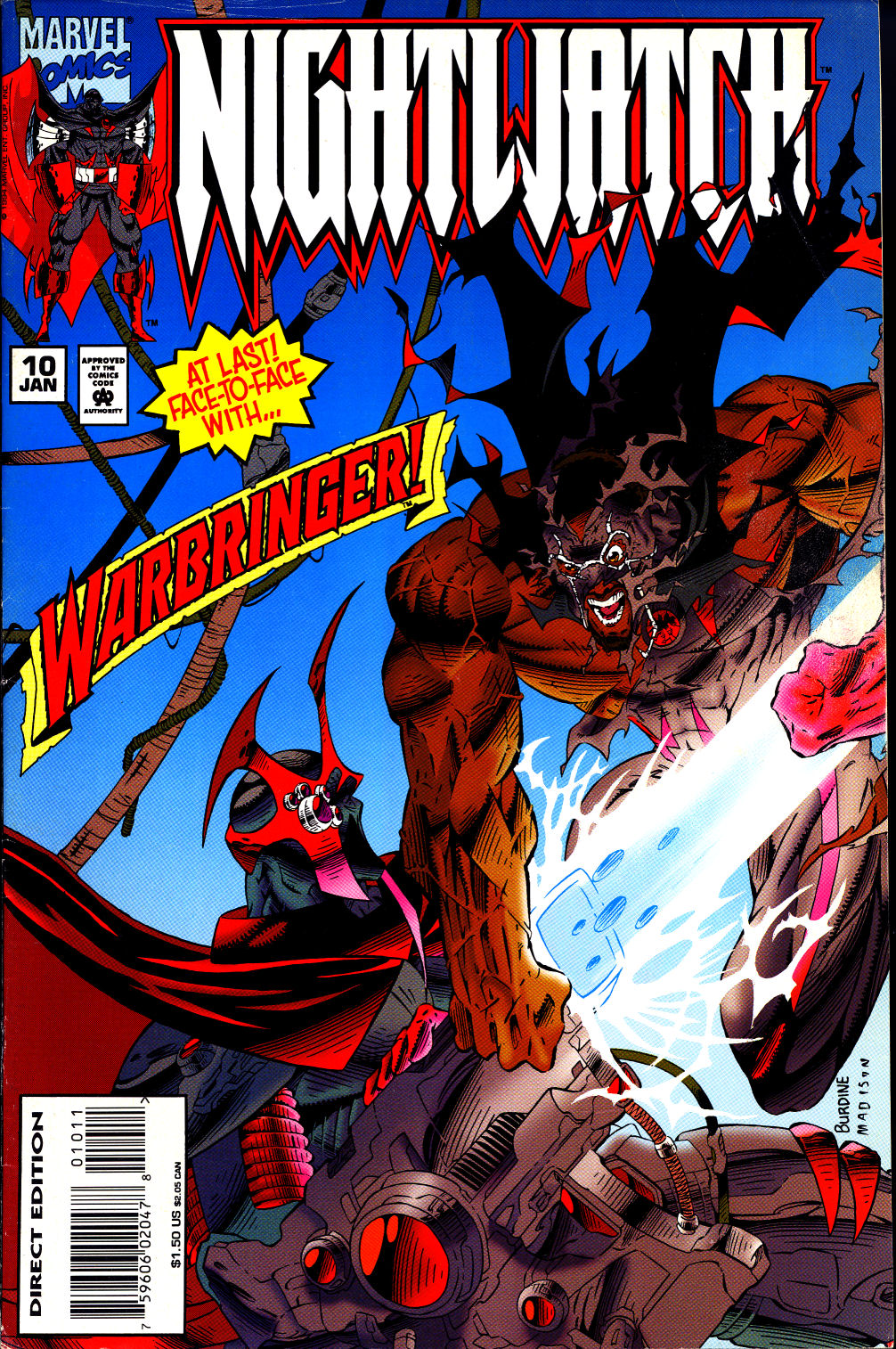 Nightwatch 010 (1995) | Viewcomic reading comics online for