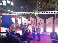 Resmikan Simpang Susun Semanggi, Presiden Jokowi Puji Kinerja Ahok dan Djarot