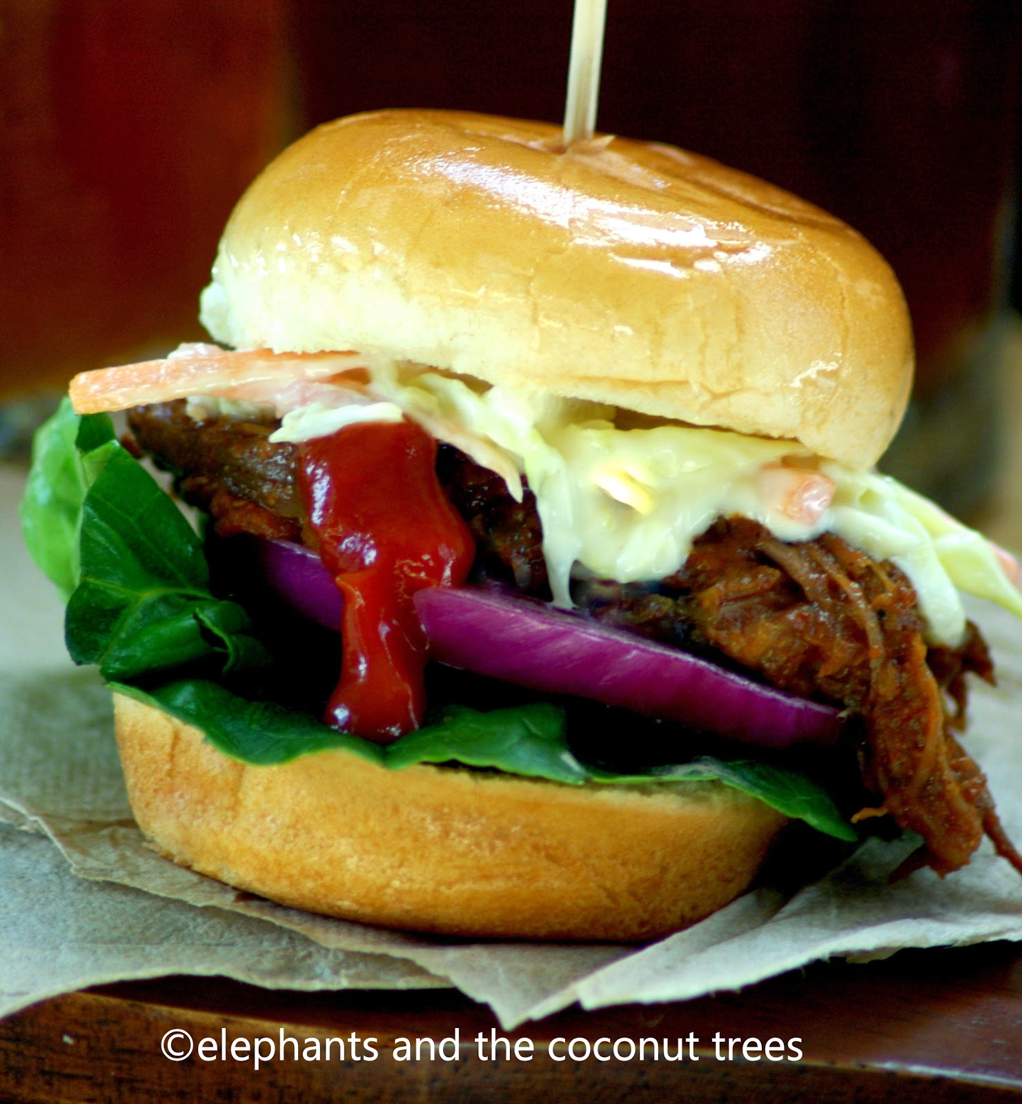 elephants and the coconut trees: Shredded Beef Sliders