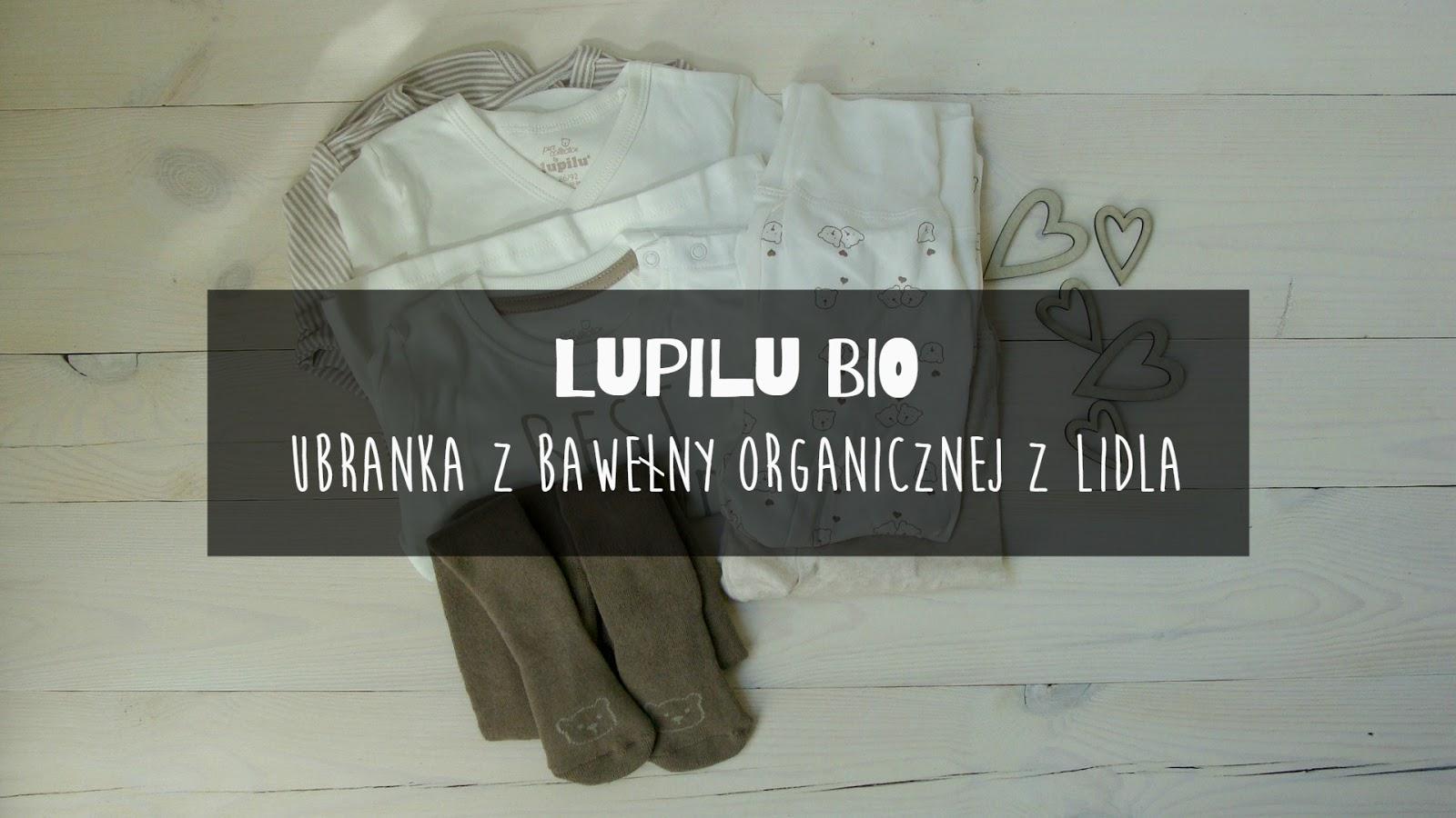 Lupilu Bio ubranka z bawełny organicznej z Lidla