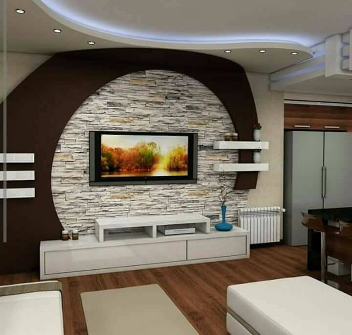 Living Area Cabinet Design: Top 40 Modern TV Cabinets Designs