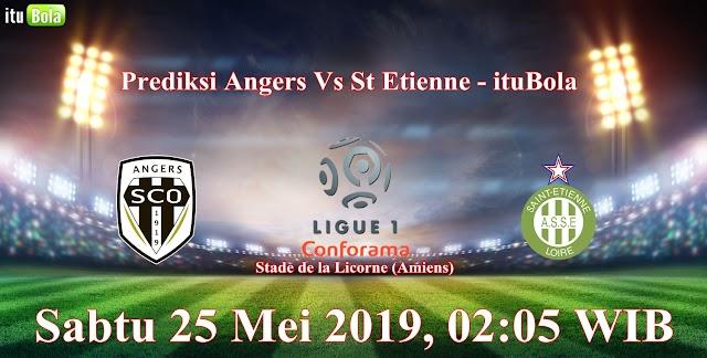Prediksi Angers Vs St Etienne - ituBola
