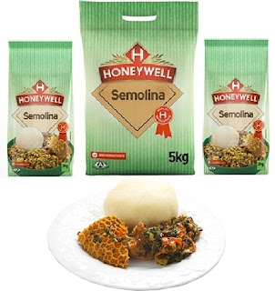 Honeywell Semolina Wheat Flour - Swallow Foods for Nigerians: Naija Grocery