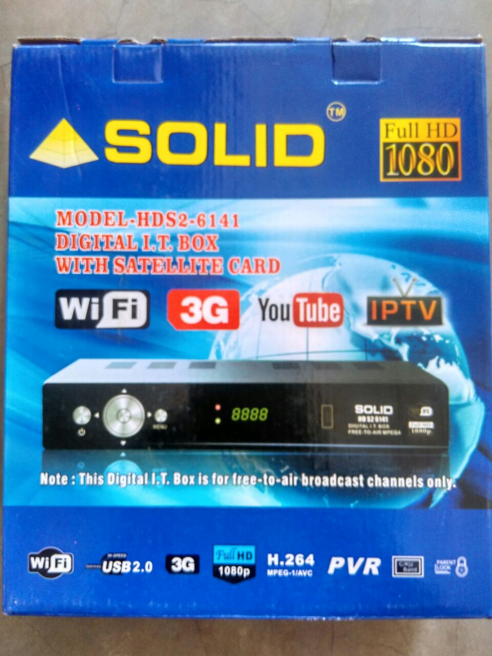 Solid 6141 Set top Box All Softwares 2018 Free Download - SvTipsTricks