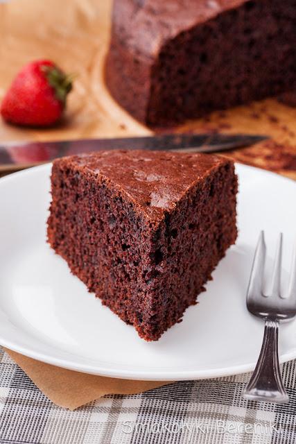 Ciasto czekoladowe bez miksera
