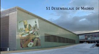 Pabellon satélite Casa de Campo de Madrid, 51 desembalaje de Madrid