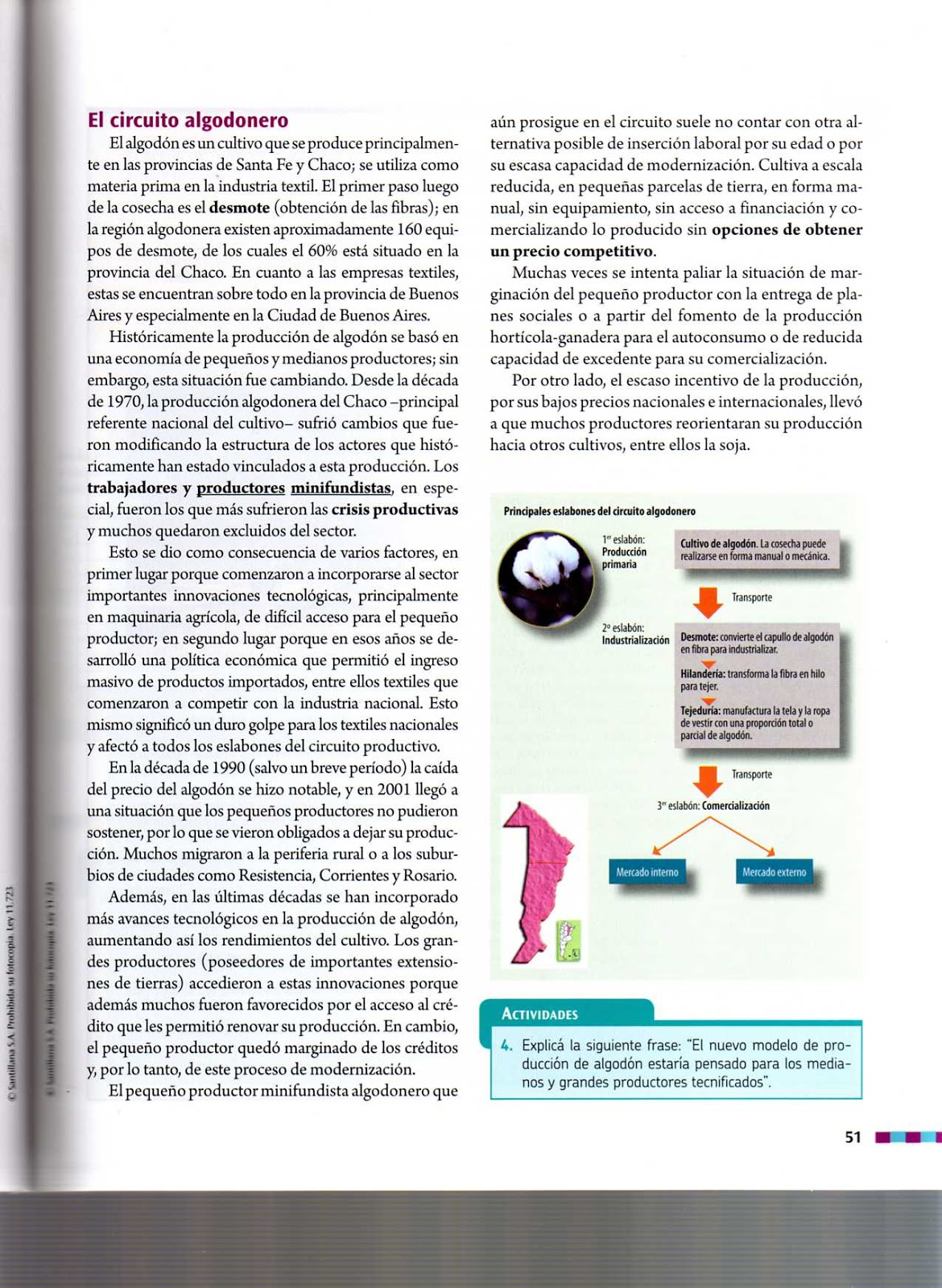 Circuito Productivo De La Caña De Azucar : Secundaria n° 3 de quilmes virtual: circuitos productivos extra