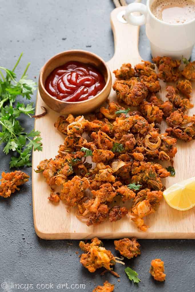 South Indian style Chicken pakoras